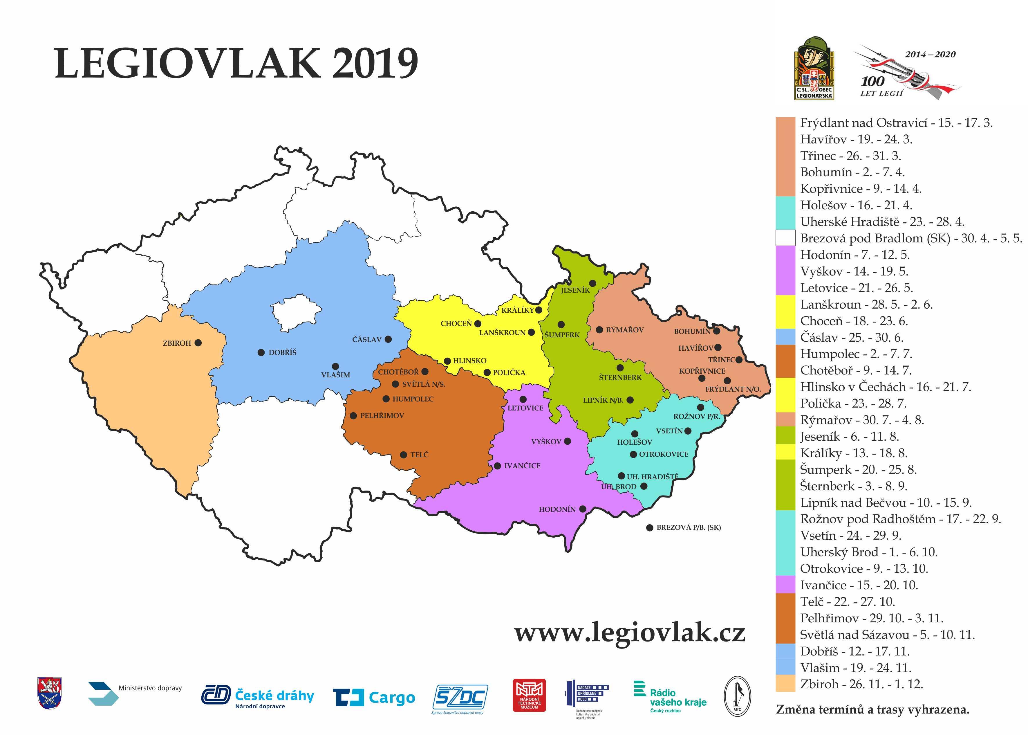 Legiovlak 2019