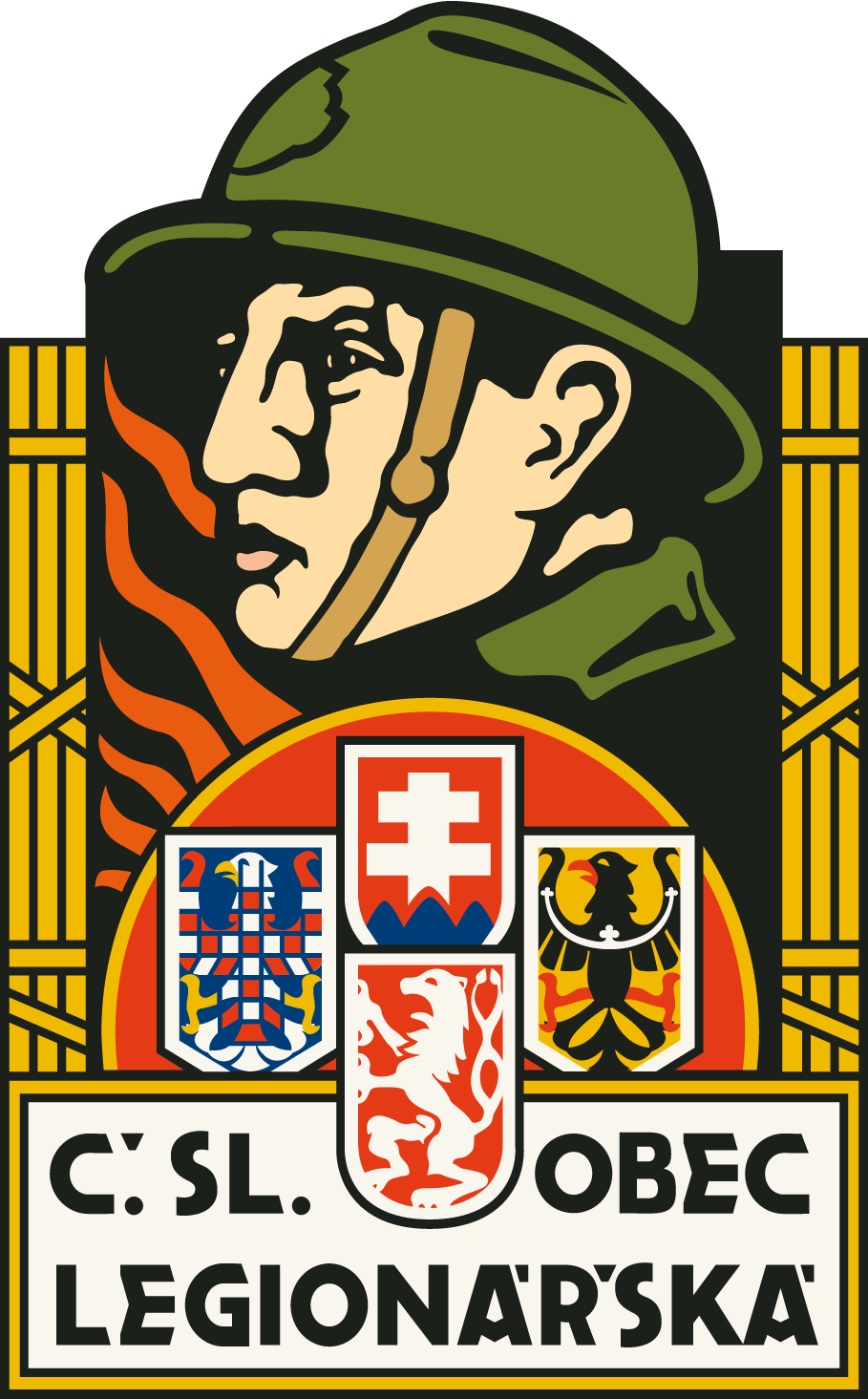 Výsledek obrázku pro Československé obce legionářské